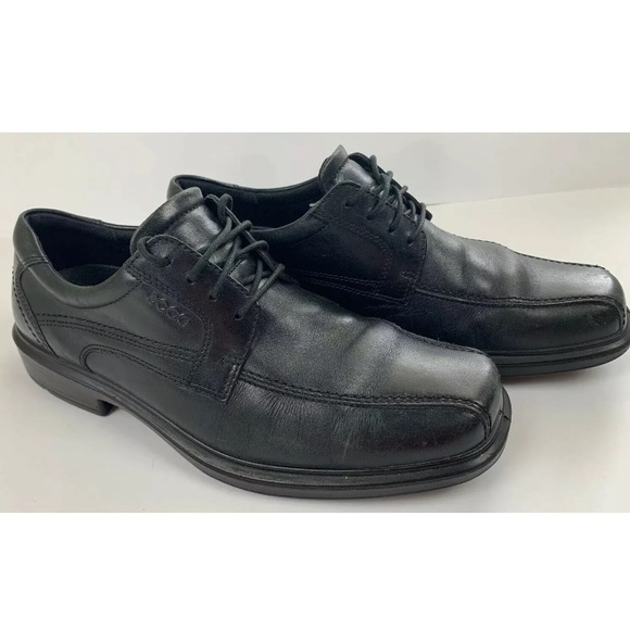 Ecco Men's Oxford Leather Shoes Size EUR 44 US 10